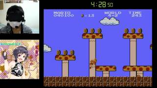 Super Mario Bros Blindfolded Best record 8-2