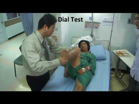 Przedoperacyjna Ocena Więzadła Krzyżowego Tylnego (Test Dial I Test Szuflady)