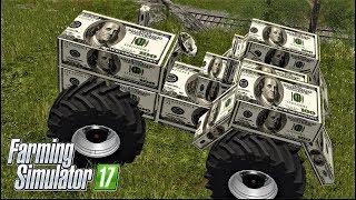 Farming Simulator 17 The MONEY TRACTOR - 100 USD TRACTOR-