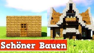 Minecraft Tutorial Wohnwagen Jeep Bauen Deutsch Most - Minecraft schone einfache hauser