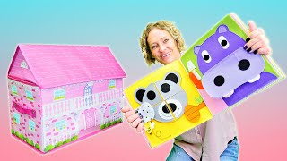 Nicoles Spielzeug Kindergarten ⭐ Farben und Formen lernen mit Pepee, Smarta und Minnie Maus.