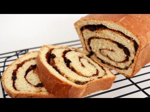 Homemade Cinnamon Raisin Bread Recipe – Laura Vitale – Laura in the Kitchen Episode 659