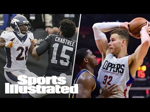 Michael Crabtree, Aqib Talib Suspended, Blake Griffin's Injury Impact | SI NOW | Sports Illustrated