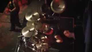 MARK ZONDER DRUMCAM ACHILLES REVENGE (WARLORD) LIVE IN ATHENS GREECE