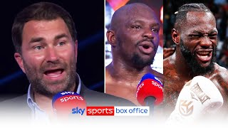 """""""Deontay Wilder direct messaged Dillian Whyte!""""👀   Eddie Hearn on Whyte's potential future opponents"""