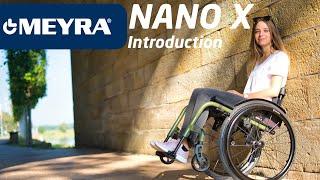 Aktivní invalidní vozík se skládacím rámem NANO X 1.156