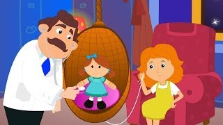 Miss Polly had a Dolly | Kindergarten Nursery Rhymes | Videos For Babies by Kids Abc Tv