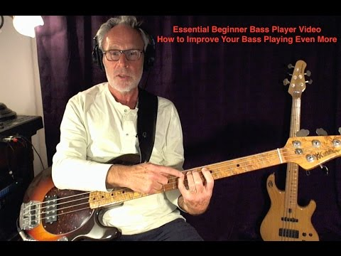 Beginner Bass Lesson - Improve Your Bass Playing Even More