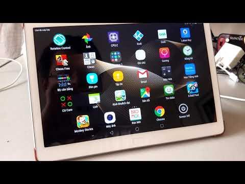 Test thử máy tính bảng android Huawei Docomo Dtab D01H