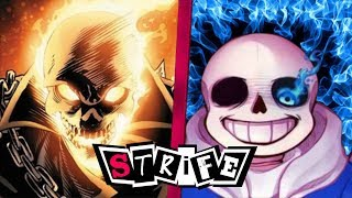 Ghost Rider VS Sans | STRIFE!!