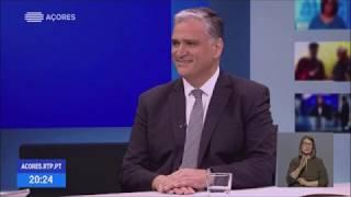 13/03/2020: Vasco Cordeiro explica o aprofundamento das medidas de Contingência em entrevista à RTP/Açores