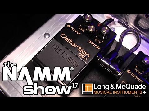 L&M @ NAMM 2017: Boss 40th Anniversary DS-1-4A