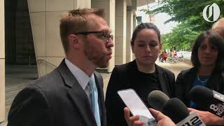 ACLU of Oregon addresses media after hearing on Sheridan immigrant detainees' access to lawyers