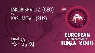 BRONZE FS - 65 kg: I. KASUMOV (RUS) df. Z. IAKOBISHVILI (GEO), 13-4