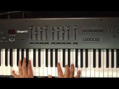 3 6 2 Chord progression Key of D Major Piano Lesson   YouTube 2