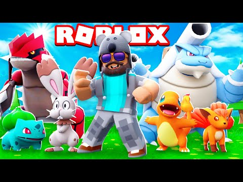 BEST POKEMON GAME EVER!!!! | Pokémon Brick Bronze [#1] | ROBLOX