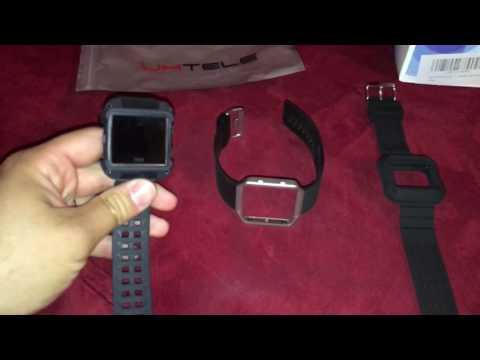 Fitbit Blaze Rugged Case / Band Umtele vs. Moretek