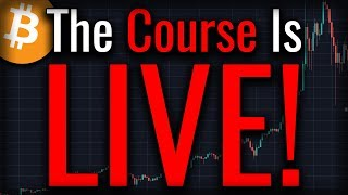 The Crypto Technical Analysis Course Is LIVE!