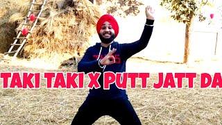 Dj Snake X Diljit Dosanjh | Taki Taki X Putt Jatt da | Bhangra with Manjinder