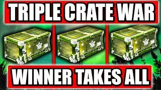 Triple Crate War - VINDICATOR Crates!