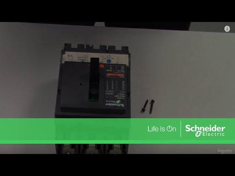 LV430841 - circuit breaker Compact NSX160N, 50 kA at 415 VAC