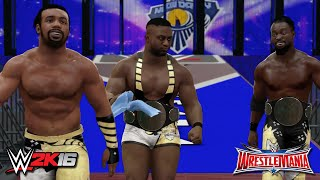 WWE 2K16 Creations: The New Day WrestleMania 32 Attires! (PS4)