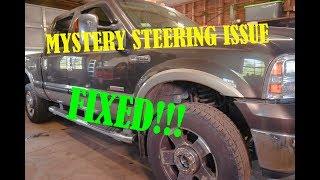 Ford Superduty Steering wander repair....Axleshaft u-joints