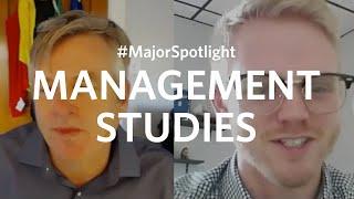 #MajorSpotlight on Management at Clark University