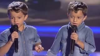 """Antonio Y Paco: """"Te Quiero, Te Quiero"""" – Último Asalto - La Voz Kids 2017"""
