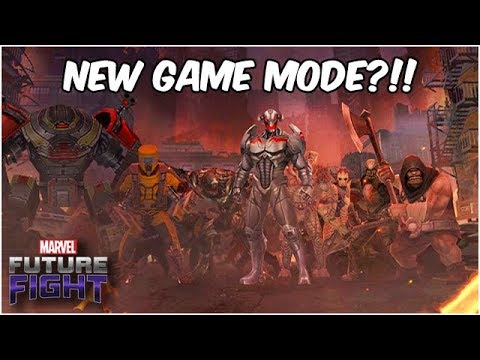 WORLD EVENT? NEW GAME MODE?! HUGE Sneak Peek (Endgame Update) - Marvel Future Fight