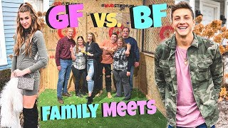 Boyfriend & Girlfriend's Parents Meet For The First Time...