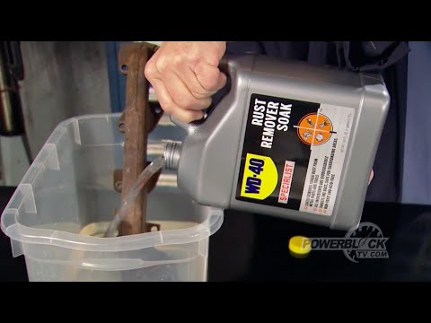 Ferrous Metals: Removes Stubborn Rust and Protects