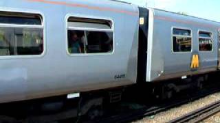 preview picture of video 'Merseyrail Trains at Hooton Station'