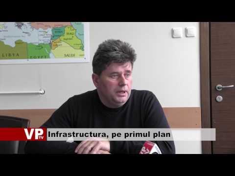 Infrastructura, pe primul plan