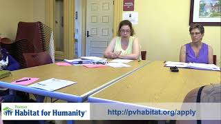 Habitat Homeowner Selection Process