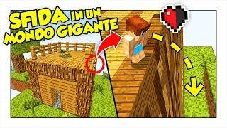 PICCOLISSIMI E CON MEZZO CUORE IN UN MONDO GIGANTE! - Minecraft ITA