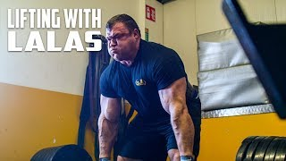 Strongman brothers-Lifting with Lalas