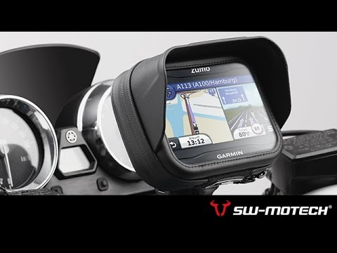 Navi Case Pro - Motorcycle All weather safe for GPS and Smartphone - Product News | SW-MOTECH