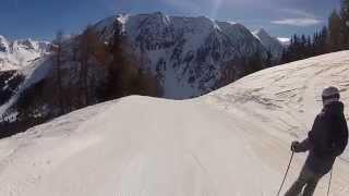 preview picture of video 'Snowboard à Barèges - piste Famose'