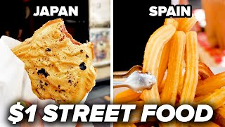 From taiyaki to pav bhaji to pan-fried pork buns, experience these different types of $1 street food around the world - POV style!   Credits: https://www.buzzfeed.com/bfmp/videos/62900  Check out more awesome videos at BuzzFeedVideo! https://bit.ly/YTbuzzfeedvideo https://bit.ly/YTbuzzfeedblue1 https://bit.ly/YTbuzzfeedviolet  GET MORE BUZZFEED: https://www.buzzfeed.com https://www.buzzfeed.com/videos https://www.youtube.com/buzzfeedvideo https://www.youtube.com/asis https://www.youtube.com/buzzfeedblue https://www.youtube.com/buzzfeedviolet https://www.youtube.com/perolike https://www.youtube.com/ladylike  BuzzFeedVideo BuzzFeed's flagship channel. Sometimes funny, sometimes serious, always shareable. New videos posted daily! To see behind-the-scenes & more, follow us on Instagram @buzzfeedvideo http://bit.ly/2JRRkKU  Love BuzzFeed? Get the merch! BUY NOW: https://goo.gl/gQKF8m MUSIC  Licensed via Audio Network