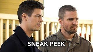 Сериалы CW, DCTV Elseworlds Crossover Sneak Peek #3 - Superman and Lois Lane Meet Barry & Oliver (HD)