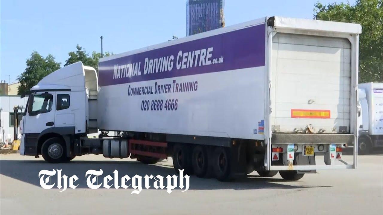 Boris Johnson poised to relax visa rules amid lorry driver shortage