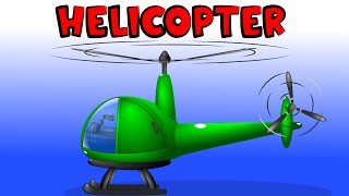 Helicopters Collection for Children | Medley | Construction Games | Helicopter Battles
