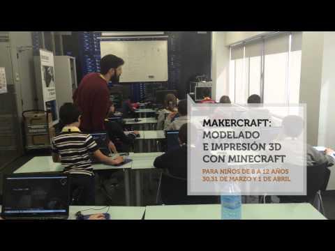 Makercraft: Modelado e impresión 3D con Minecraft