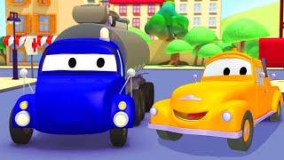 Odtahové auto pro děti - Tanker Odtahové auto Tom ve Městě Aut