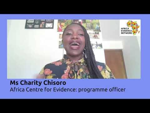Africa Evidence Week 2021: Emerging EIDM leader_Charity Chisoro: why I fell in love with EIDM