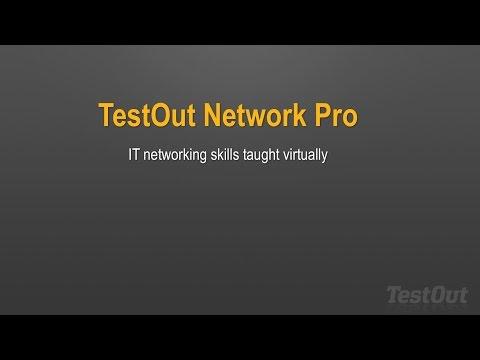 TestOut Network Pro - YouTube