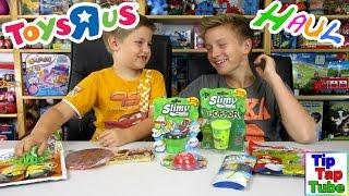 Super Toys R us Haul   unser Einkauf im Spielzeugladen TipTapTube Kinderkanal