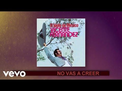 Vicente Fernández - No Vas a Creer (Cover Audio)
