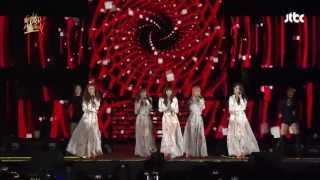 [GDA/Golden Disk Awards] 4minute(포미닛) - Hot Issue(핫이슈)